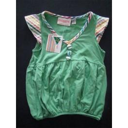 Vestido verde de verano